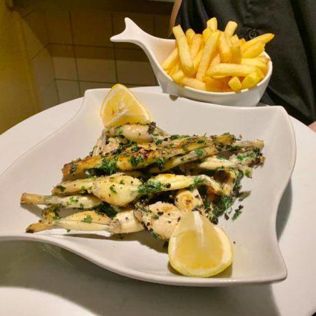 Exemple de suggestions du jour Restaurant Le Vinci Octobre 2020
