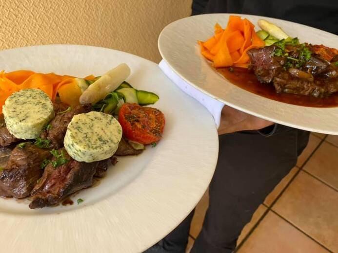 menu restaurant le vinci 68 Sausheim (Terrasse et à emporter)