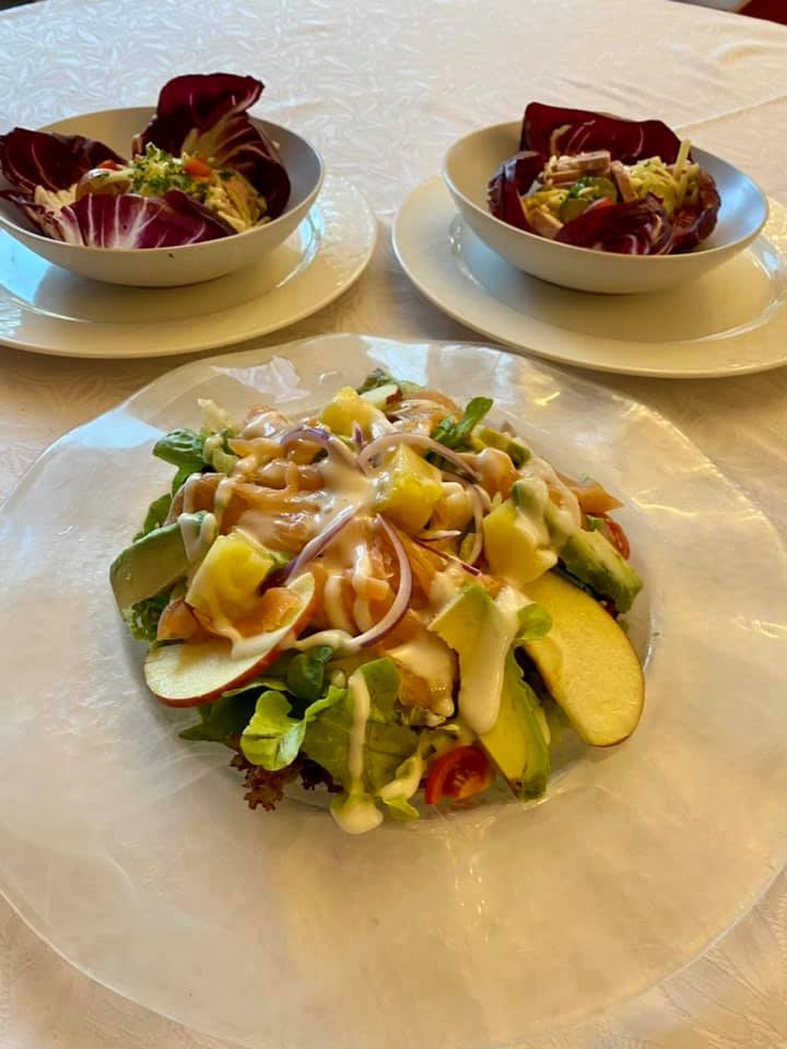 Menus du jour et carte semaine 38 - Restaurant Le Vinci à 68 Sausheim